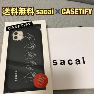 サカイ(sacai)のsacai casetify PEACE iPhoneケース アイフォーン (iPhoneケース)