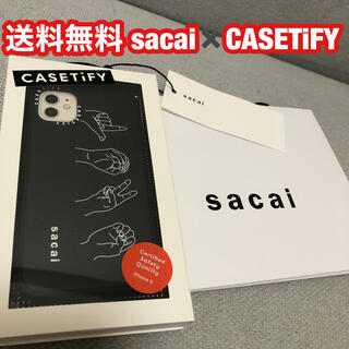 sacai casetify PEACE iPhoneケース アイフォーン