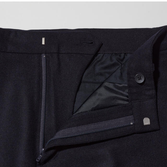 UNIQLO(ユニクロ)のウールブレンドイージーパンツ メンズのパンツ(スラックス)の商品写真