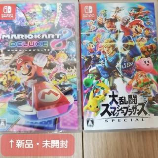 Nintendo Switch - Switch スマブラ、マリオカート セット スイッチ用ソフト