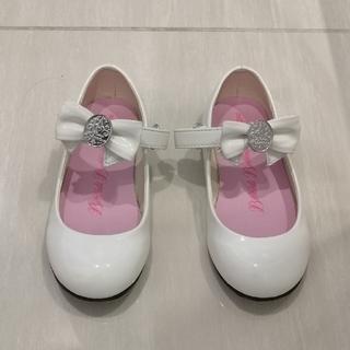 Disney - ビビディバビディブティック 靴 白 19cm