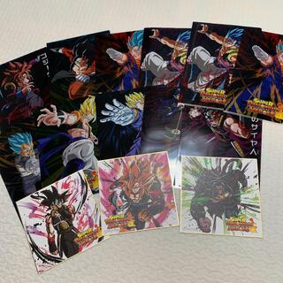 ドラゴンボール(ドラゴンボール)のドラゴンボール 一番くじ 色紙 クリアファイルセット G賞 H賞(キャラクターグッズ)