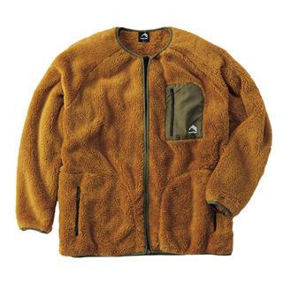 パタゴニア(patagonia)のWorkman ワークマン ストレッチフリースノンカラージャケット キャメルLL(ノーカラージャケット)