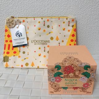 L'OCCITANE - ロクシタン☆NFソフトボディクリーム & ポーチ