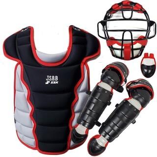エスエスケイ(SSK)の少年軟式野球キャッチャー防具4点セット+1(防具)