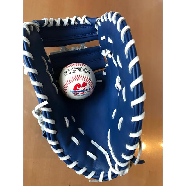 横浜DeNAベイスターズ(ヨコハマディーエヌエーベイスターズ)の横浜DeNAベイスターズ 2020 ファンクラブ会員特典 ファーストミット スポーツ/アウトドアの野球(記念品/関連グッズ)の商品写真