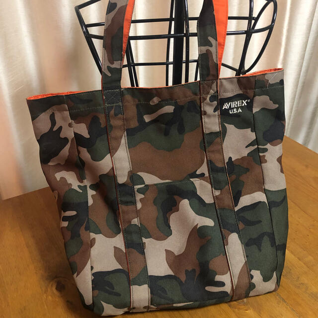 AVIREX(アヴィレックス)のAVIREX カモフラ トートバック メンズのバッグ(トートバッグ)の商品写真