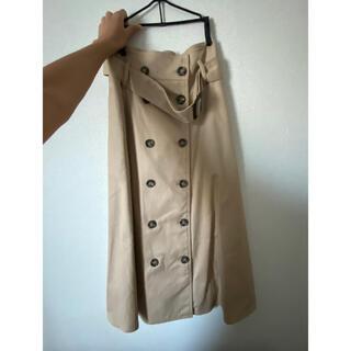 mysty woman - レディース スカート トレンチ フレアスカート ロングスカート