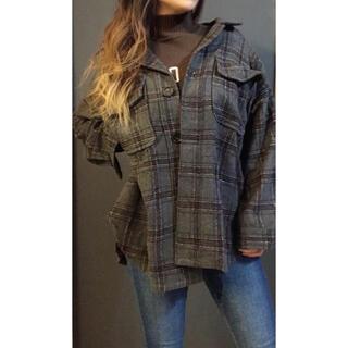 ジェイダ(GYDA)の【GYDA】RAISING CHECK FABRICシャツ(シャツ/ブラウス(長袖/七分))