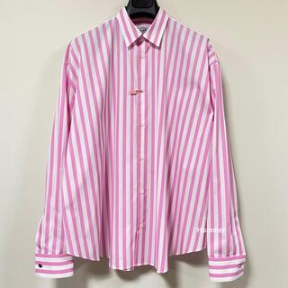 エルメス(Hermes)の国内正規品 極美品 エルメス コレクション オーバーサイズ 長袖シャツ 2020(シャツ)