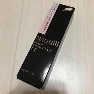 MAQuillAGE - 【発送時箱なし】資生堂 マキアージュ ピーチチェンジベースCC 化粧下地