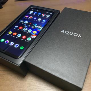 AQUOS - Aquos zero2 8/256GB アストロブラック ソフトバンク
