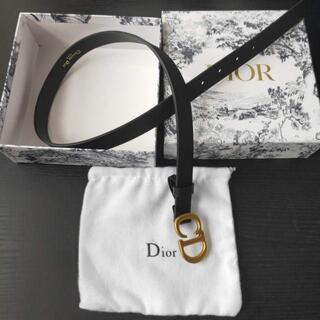 Dior - ◆Dior ディオール◆カーフスキンサドルベルト2cm幅