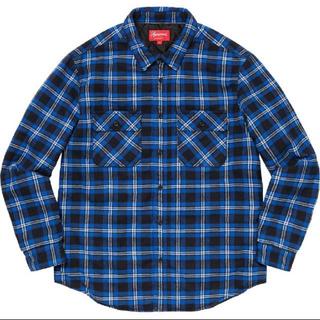 シュプリーム(Supreme)のsupreme Arc Logo Quilted Flannel Shirt L(シャツ)