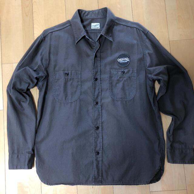 TENDERLOIN(テンダーロイン)のTENDERLOIN ヘリンボーンワークシャツ メンズのトップス(シャツ)の商品写真