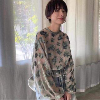 STUDIOUS - CLANE伊勢丹限定 FLOWER TOPS