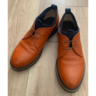 Plantation - Plantation 走れる、革靴「プレーントゥースリッポン」Lサイズブラウン