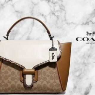 COACH - COACH Courier Carryall 23 キャリーオール 23新作