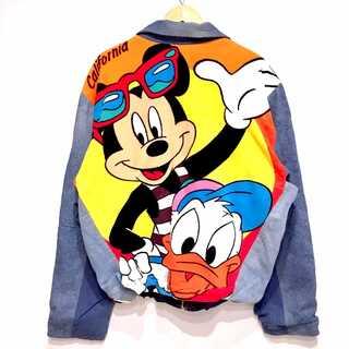 Disney - 美品 TOO CUTE ミッキー&ドナルド リメイク デニム ジャケット