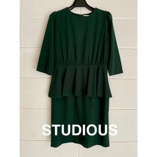 ステュディオス(STUDIOUS)のSTUDIOUS ワンピース ドレス(ひざ丈ワンピース)
