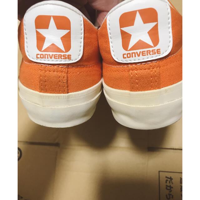 CONVERSE(コンバース)のconverse コンバース チャックテイラー  靴 オレンジ オールスター メンズの靴/シューズ(スニーカー)の商品写真