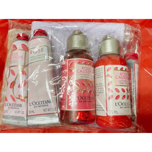L'OCCITANE(ロクシタン)のJAL 機内販売 ロクシタン ローズカリソン 新品 コスメ/美容のボディケア(ハンドクリーム)の商品写真
