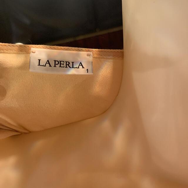 LA PERLA(ラペルラ)の完売 la perla ローブ  レディースのルームウェア/パジャマ(ルームウェア)の商品写真