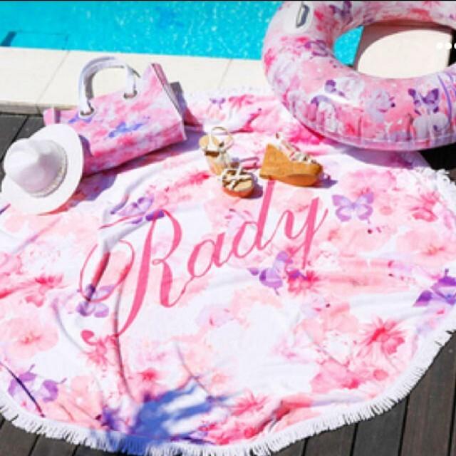 Rady(レディー)のRady❤トロフララウンドタオル エンタメ/ホビーのコレクション(ノベルティグッズ)の商品写真