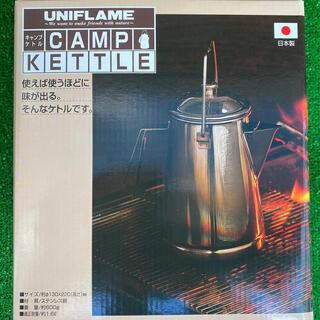 ユニフレーム(UNIFLAME)の新品未使用ユニフレーム  ケトル(調理器具)