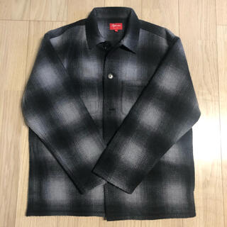 Supreme - supreme shadow plaid fleece shirt Lサイズ