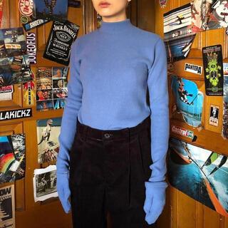 open the door  globe half-neck mitten T