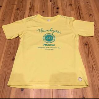 マーモット(MARMOT)のマーモット40周年記念限定Tシャツ(Tシャツ/カットソー(半袖/袖なし))