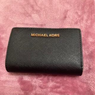 Michael Kors - MICHAEL KORS 折りたたみ財布 BLACK