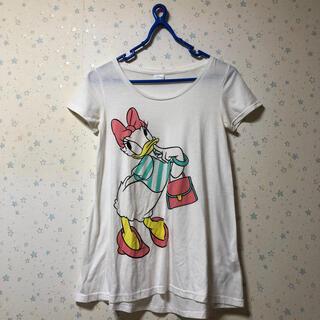 アナップ(ANAP)のANAP   アナップ Tシャツ ロンT  ディズニー デイジー(Tシャツ(半袖/袖なし))