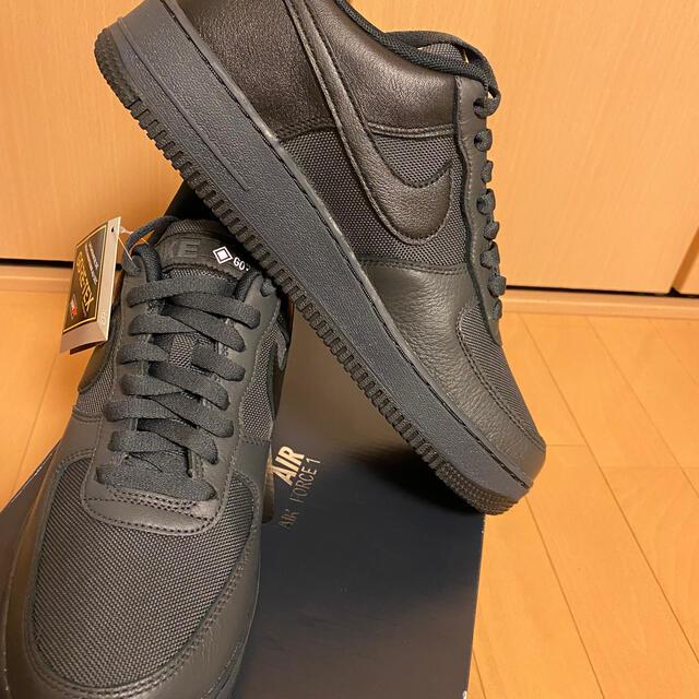NIKE(ナイキ)のナイキ エアフォース1 ゴアテックス 27.5cm ブラック メンズの靴/シューズ(スニーカー)の商品写真