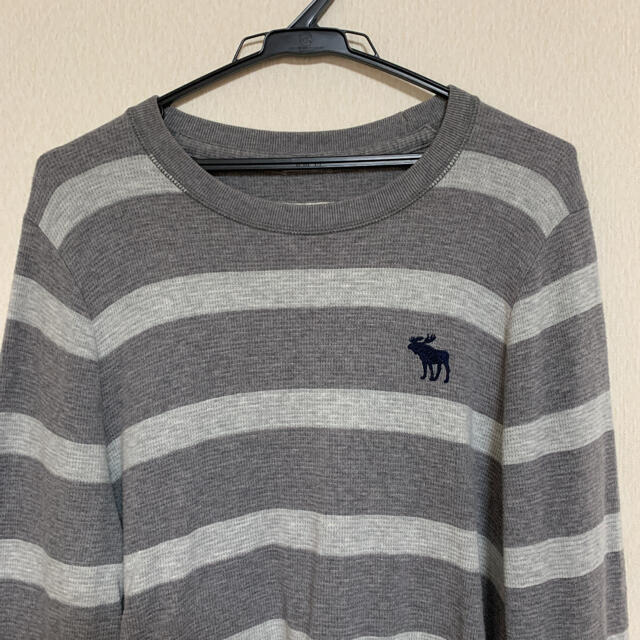 Abercrombie&Fitch(アバクロンビーアンドフィッチ)の【状態良好】Abercrombie&Fitch  ニットシャツ メンズのトップス(ニット/セーター)の商品写真