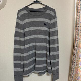 アバクロンビーアンドフィッチ(Abercrombie&Fitch)の【状態良好】Abercrombie&Fitch  ニットシャツ(ニット/セーター)