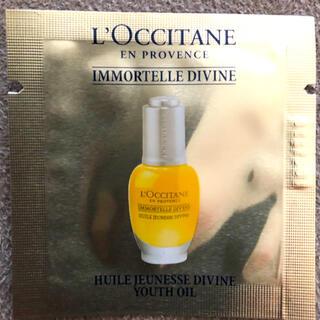 L'OCCITANE - ロクシタン IMディヴァインインテンシヴオイルとクリームの試供品セット