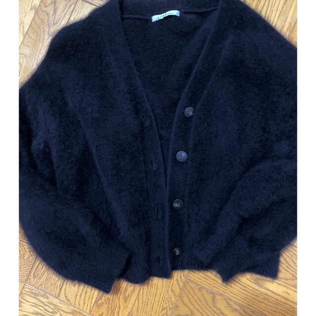 Ron Herman(ロンハーマン)のETRE tokyo ラクーン カーディガン レディースのトップス(ニット/セーター)の商品写真