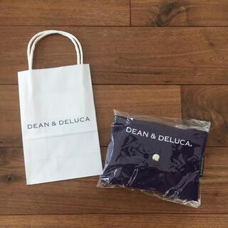 DEAN & DELUCA - dean & deluca 京都 限定 紫色 ショッピングバッグ エコバッグ