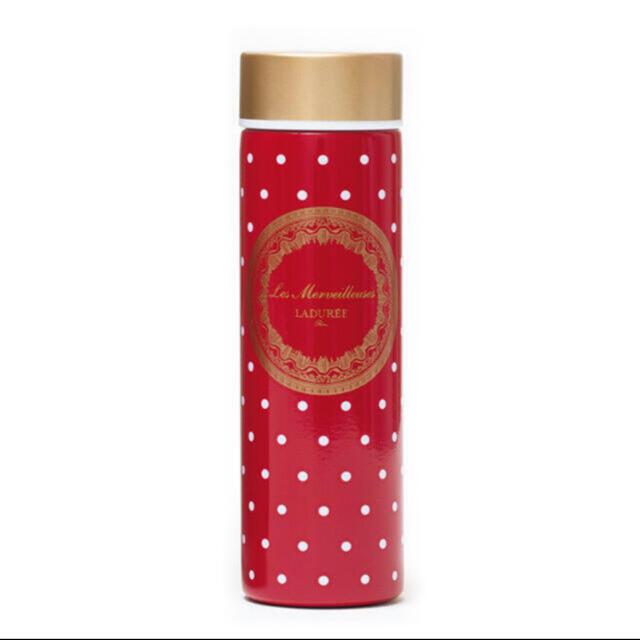Les Merveilleuses LADUREE(レメルヴェイユーズラデュレ)のグロー GLOW 付録 ステンレスボトル インテリア/住まい/日用品のキッチン/食器(タンブラー)の商品写真