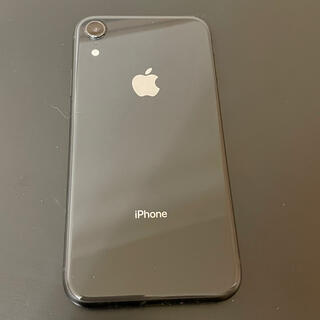 iPhone XR 64GBブラック