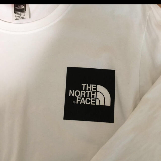 THE NORTH FACE(ザノースフェイス)のthe north face ロンT Lサイズ 白 ホワイト メンズのトップス(Tシャツ/カットソー(七分/長袖))の商品写真