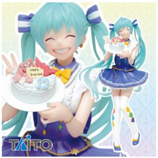 タイトー(TAITO)のタイクレ限定 初音ミク バースデーフィギュア 2019ver(フィギュア)