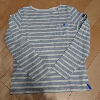 フェリシモ(FELISSIMO)の美品☆フェリシモ☆キッズロンTグレー140㎝(Tシャツ/カットソー)