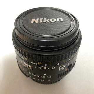 Nikon - Nikon AF NIKKOR 50mm 1:1.8 中古レンズ