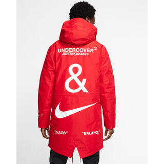 UNDERCOVER - UNDERCOVER × NIKE 3レイヤー フィッシュテール パーカー M