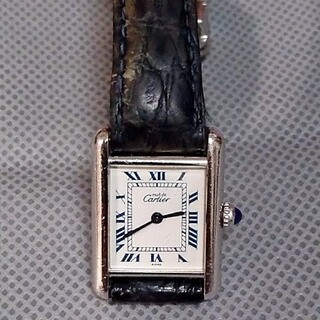 Cartier - カルティエ マスト タンク 1614