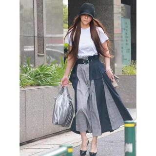 ファーファー(fur fur)の美品 furfur  安室奈美恵さん着用 アシンメトリースカート(ロングスカート)