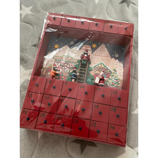 カルディ(KALDI)のカルディ限定 アドベントカレンダー クリスマス 木製 新品 未開封(その他)